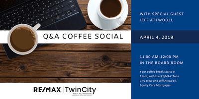 Q&A Coffee Social with Jeff Attwooll, Equity Care Mortgages