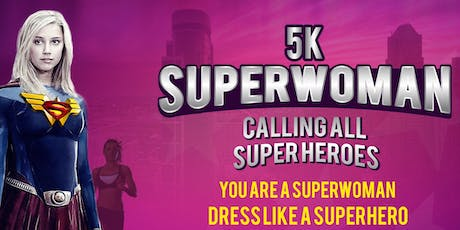 SUPERWOMAN 5K® - VIRTUAL EDITION entradas