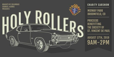 2019 Holy Rollers Charity Car Show tickets