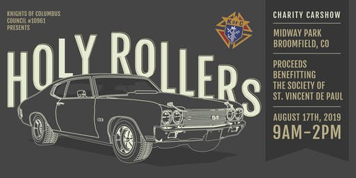 2019 Holy Rollers Charity Car Show