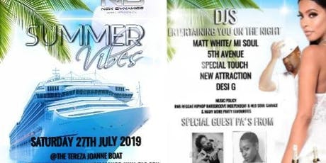 New Dynamics Summer Vibes Launch & Boat Party tickets