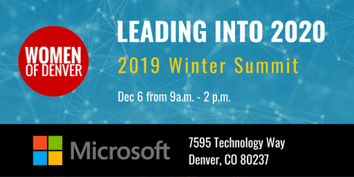 Leading into 2020: Winter Leadership Summit