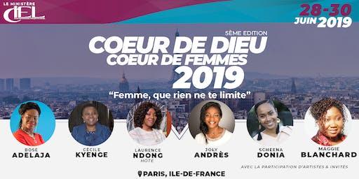 """Conférence """"Coeur de Dieu, Coeur de Femmes"""" 2019"""