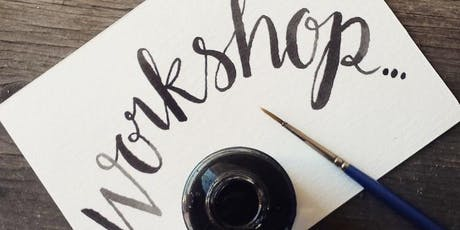 Brush Lettering Calligraphy Workshop tickets