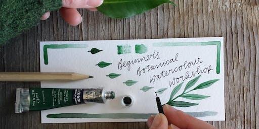 Beginner's Botanical Watercolour Workshop