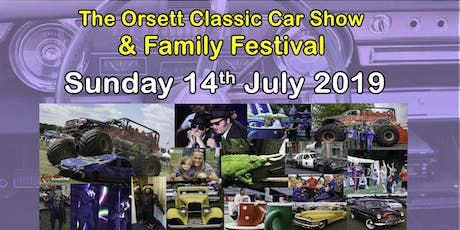 Orsett Classic Car & Family Festival tickets