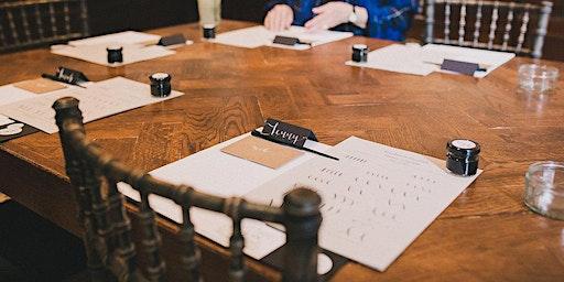 Modern calligraphy workshop in Stourbridge