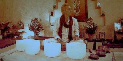 Sessione Sonora Vibrazionale Con Campane Di Cristallo E Tibetane