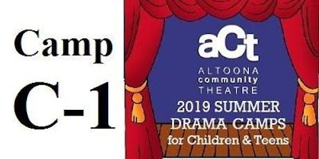 ACT Summer Drama Camp: C-1 with Woody Pyeatt (Grades 9,10,11,12) tickets