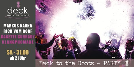 Back to the Roots w/ MARKUS KAVKA & RICH VOM DORF Tickets
