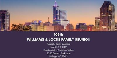108th Williams-Locke Family Reunion