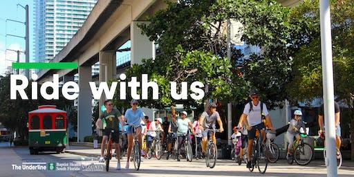 The Underline Cycling Club June Bike Ride | Vizcaya Village Tour