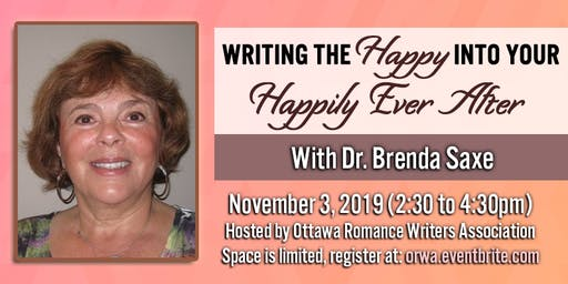Writing the Happy into your Happily Ever After