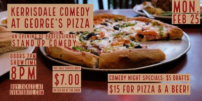 Georges Pizza Presents: Kerrisdale Comedy