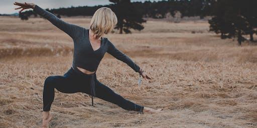 Yoga Photo Hike