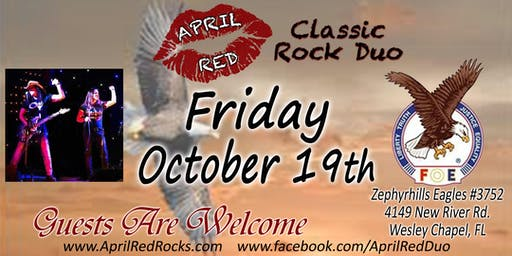 April Red LIVE at the Zephyrhills Eagles 3752 in Wesley Chapel!