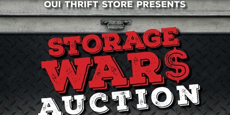 OUI's 3rd Annual Storage Wars Auction tickets