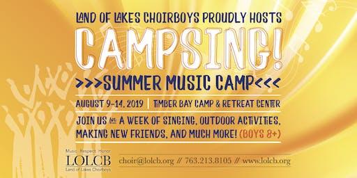 CampSing! 2019
