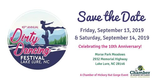 2019 Lake Lure Dirty Dancing Festival