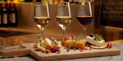 Wine and Cheese Pairing featuring The Raclette Machine and The Hive Winery