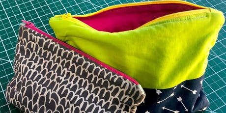 Sew Your Own Zipper Pouch! tickets
