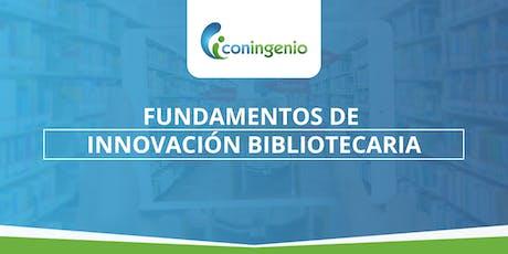 Medellín: Curso fundamentos de Innovación Bibliotecaria entradas