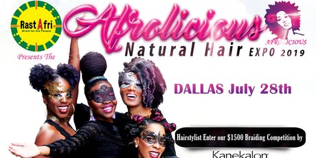 Afrolicious Hair Expo Dallas 2019 tickets