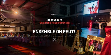 Gala Robe Rouge Gatineau 2019 tickets