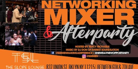 Networking Mixer & 500 Men Making a Difference 9th Anniversary tickets