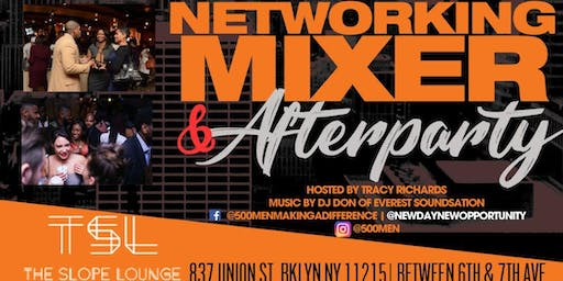 Networking Mixer & 500 Men Making a Difference 9th Anniversary