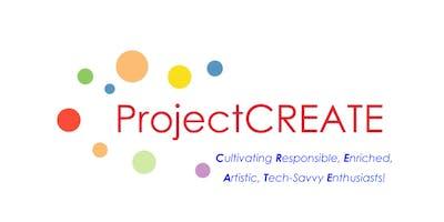 Summer 2019: ProjectCREATEs Engineers! - June 3-7, 2019