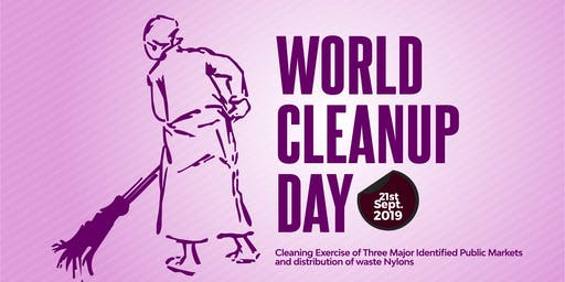 WORLD CLEAN UP DAY WITH MAMA INITIATIVE