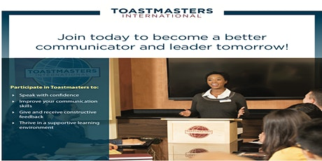 ***SPEAKERS CORNER TOASTMASTERS MEETING HAS GONE VIRTUAL*** tickets