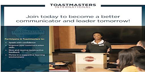 SPEAKERS CORNER TOASTMASTERS MEETING