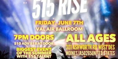 515 RISE - June 7th - Val Airballroom