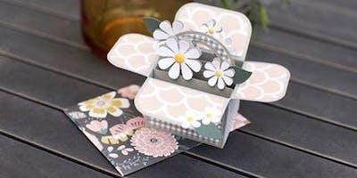 Flower Basket Pop-up Card