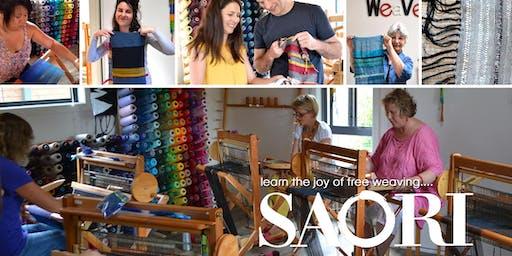 Saori Free Weaving Weekend Workshop  22/23  June 2019