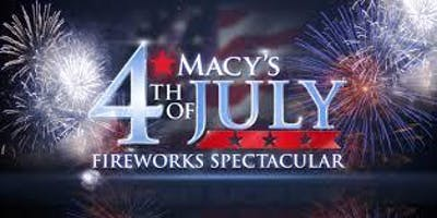 Macys July 4th Fireworks Viewing Pre Party: Indoor & Outdoor Options (21+)