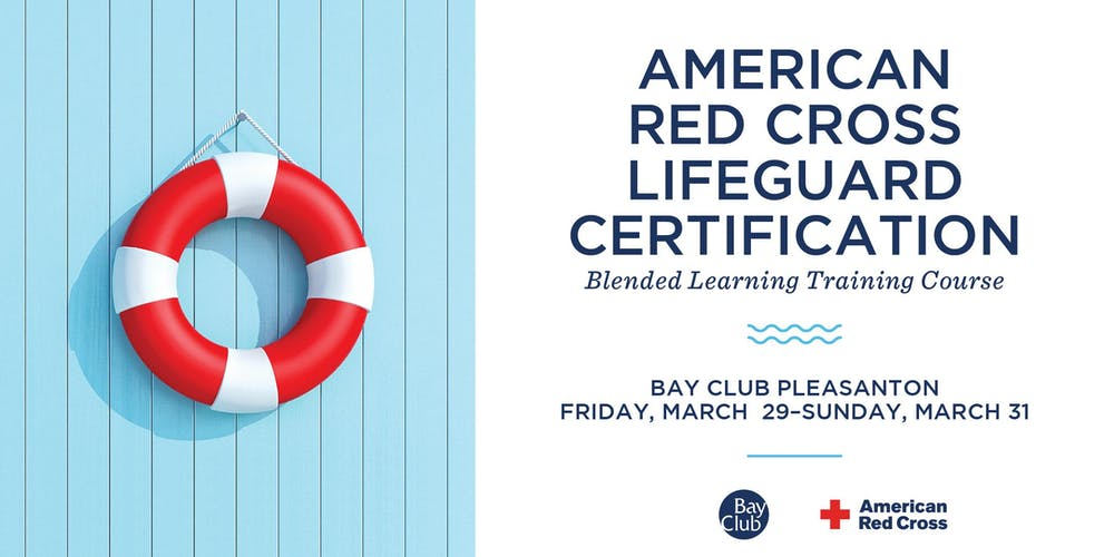 Red Cross Lifeguard Certification Blended Learning Training Course