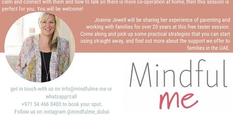 Joanne Jewell - Founder of Mindful Parenting UAE Events | Eventbrite