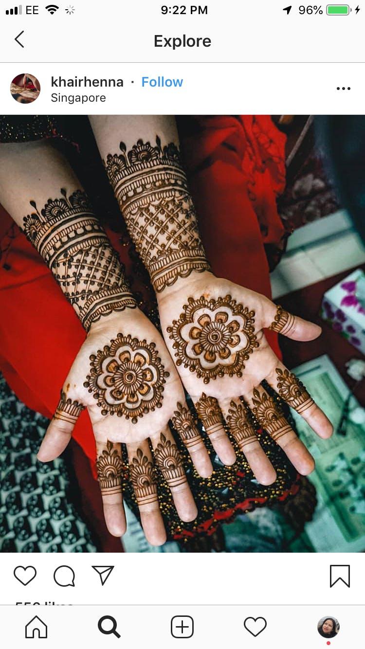 20c50c5f4 Henna THE BODY ART - 16 APR 2019