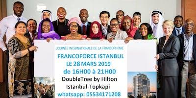 1ère Edition des FrancoForce Istanbul (DoubleTree