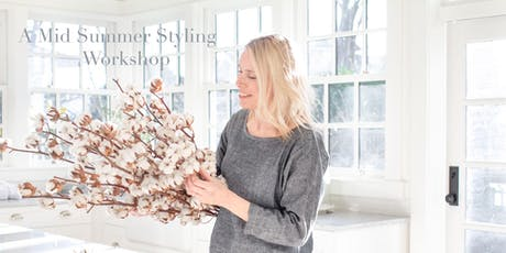A Mid Summer Styling Workshop with Tracey Ayton tickets