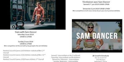 Train with Sam Dancer @CrossFit Octoduria, Switzerland