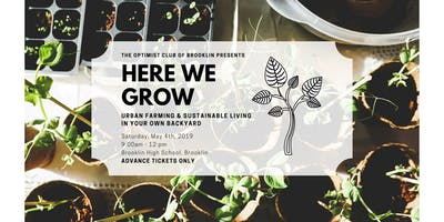 HERE WE GROW - Urban Farming & Sustainable Living in Your Own Backyard