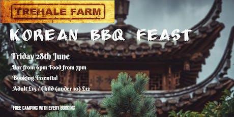 Korean BBQ Feast tickets