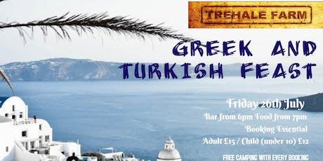Greek & Turkish Feast tickets