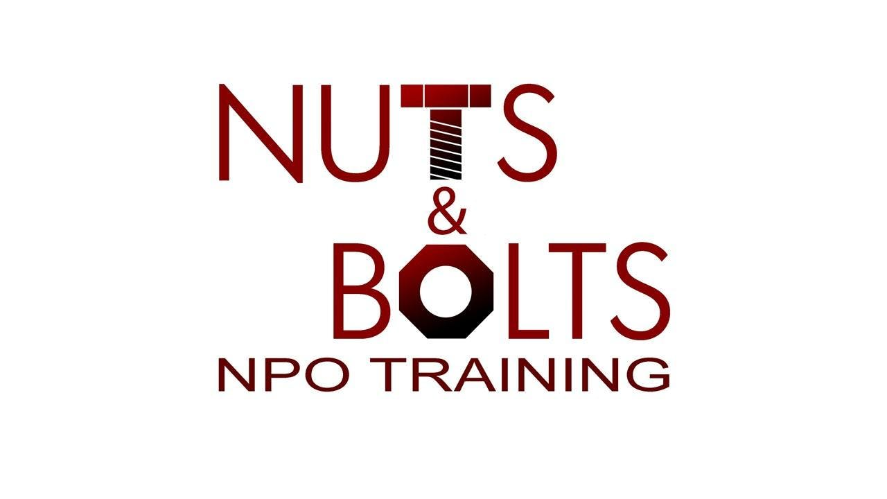March '19 Nuts & Bolts NPO Training