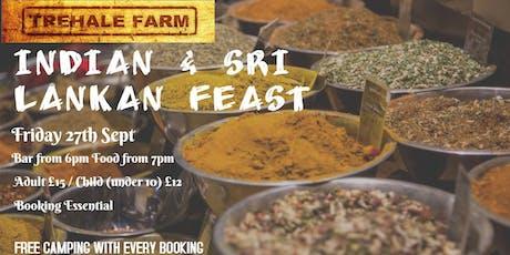 Indian & Sri Lankan Feast tickets