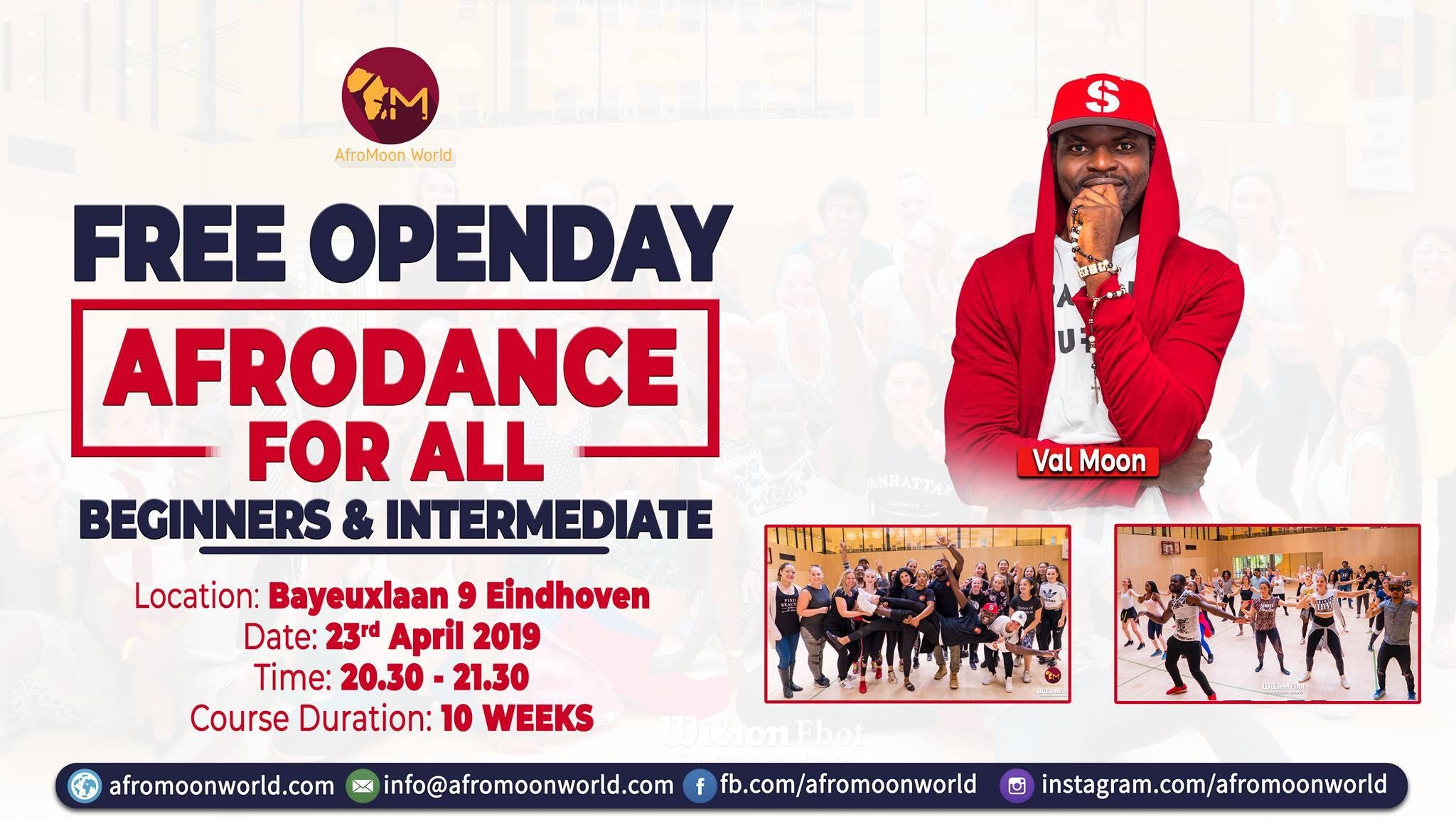 FREE Afrodance Open days in Eindhoven